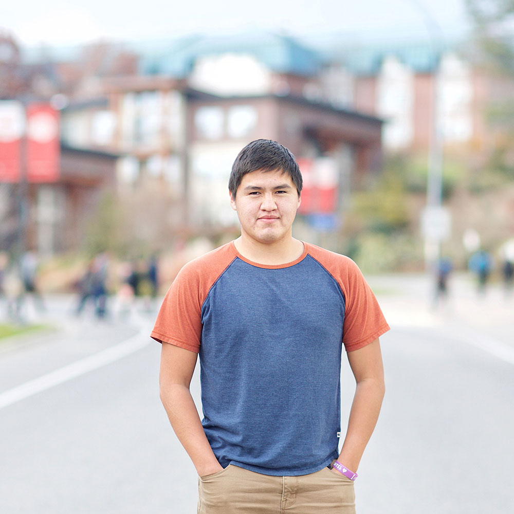 Aboriginal Access Studies student Sidney Paul