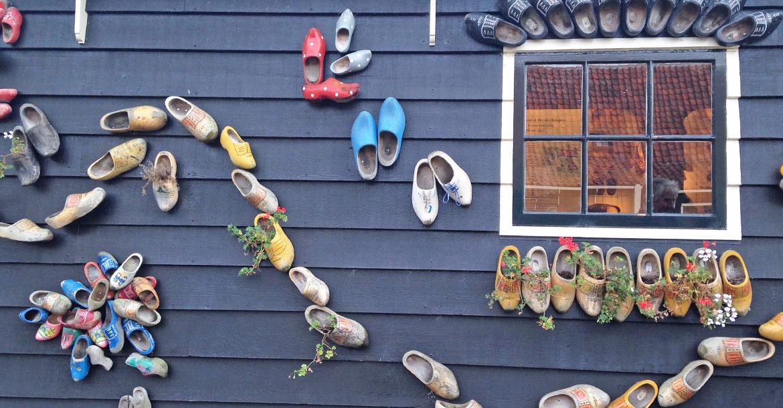 Netherlands, wooden shoes