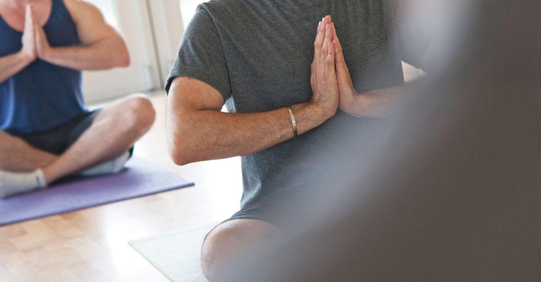 spiritual yoga pose
