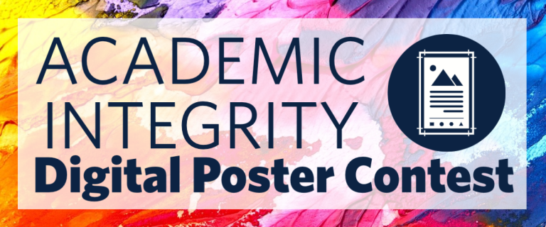 Academic Integrity Digital Poster Contest