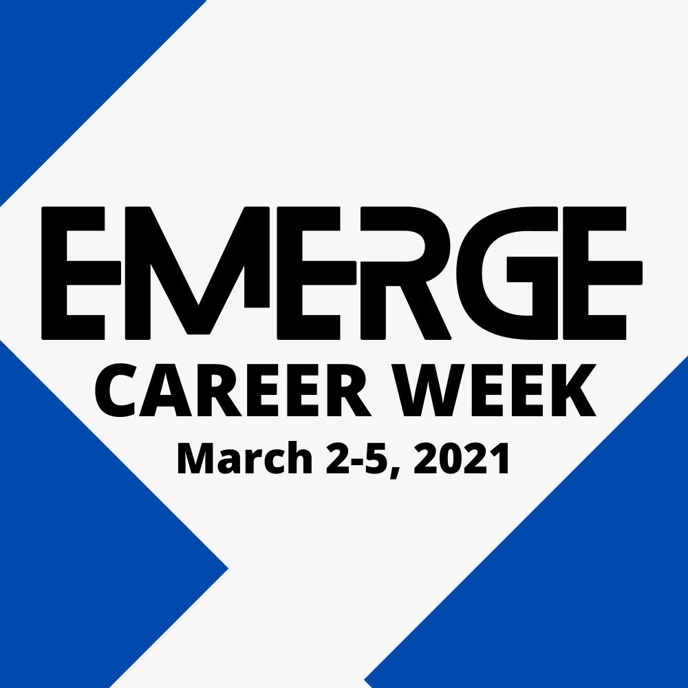 Emerge career week graphic