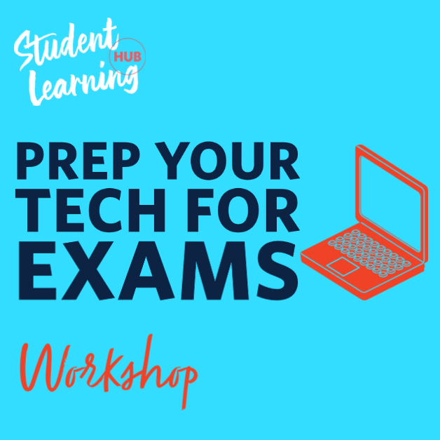 Prep your tech for exams workshop