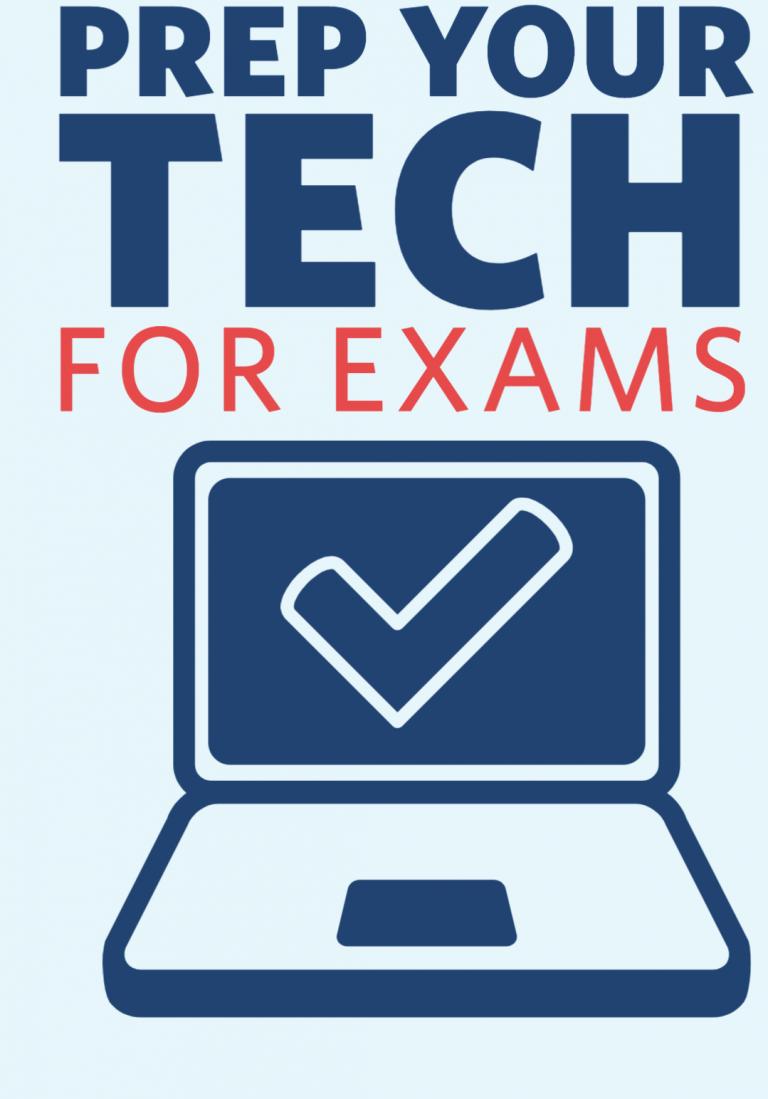 Prep Your Tech for Summer Exams